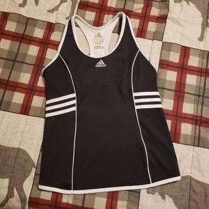 🦋 Adidas Black White Sports Bra Top